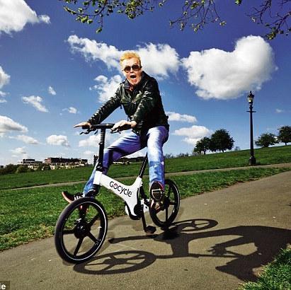 Gocycle G2 - Chris Evans