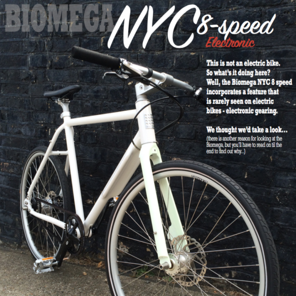 Electric Bike Review - Biomega NYC Di2